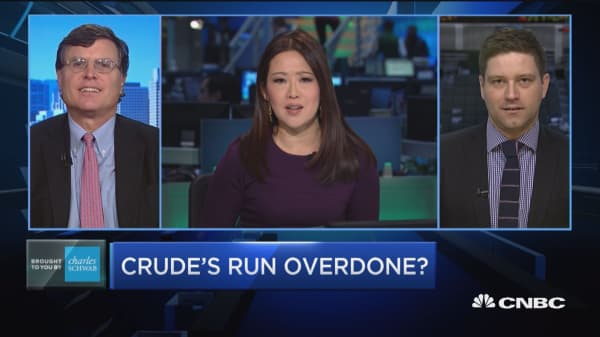 Trading Nation: Crude's run overdone?