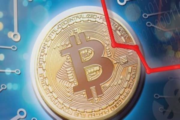 Bitcoin sinks below a key milestone