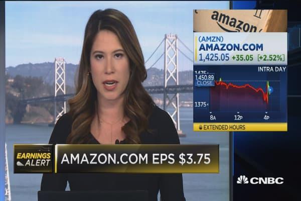 Amazon's Jeff Bezos: Expect Amazon to double down