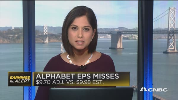 Alphabet CFO: We operate in a competitive market