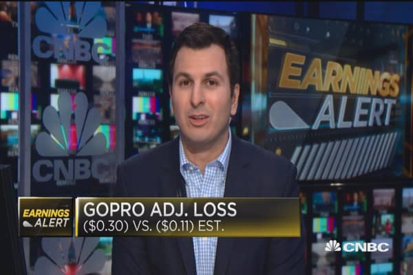 GoPro misses expectations