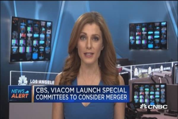 CBS, Viacom launch special committees to consider merger