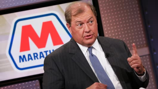 Gary Heminger, CEO of Marathon Petroleum