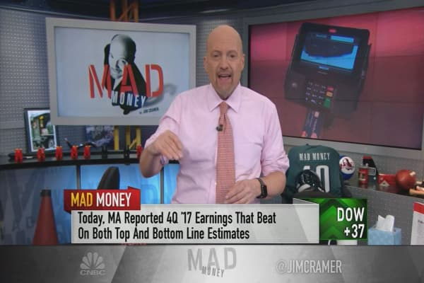 Cramer pinpoints 4 stocks 'on a mission' to higher prices: Boeing, Mastercard, Idexx and Nvidia