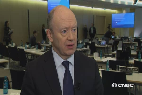 Deutsche Bank CEO on Q4 earnings, US tax overhaul