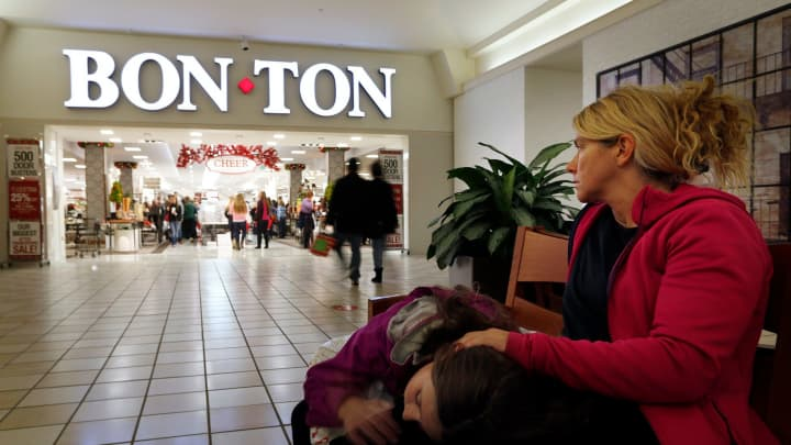 A Bon-Ton store in South Portland, Maine.