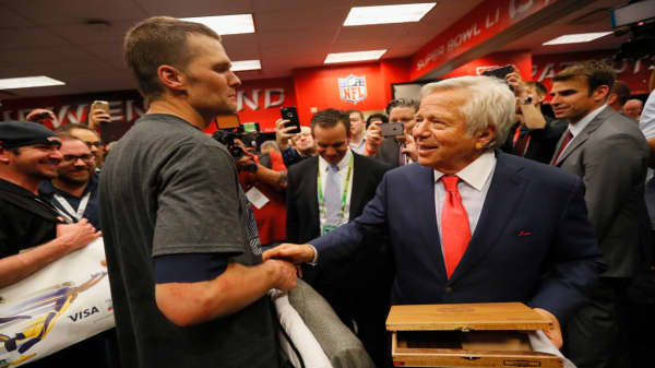 Robert Kraft reveals 'ritual' before each Super Bowl