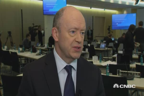 US tax reform has had 'visible impact': Deutsche Bank CEO