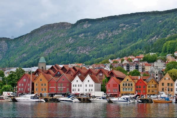 Bryggen is one of Bergen's and Norway's main attractions. Bryggen was built after the great fire in 1702 and is included on UNESCO's World Heritage List.