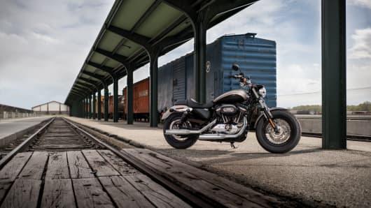 The Harley-Davidson Sportster 1200 Custom.