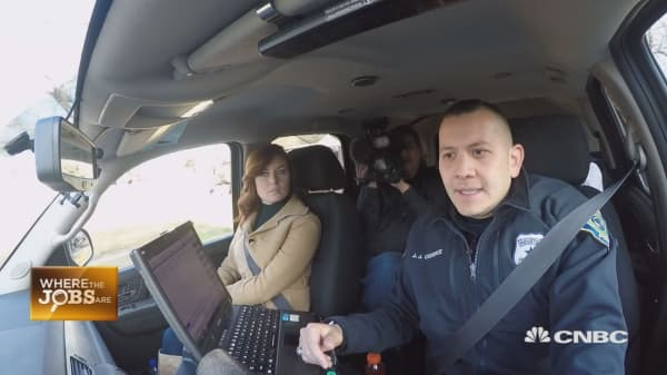 Kate Rogers' Ride Along with a Houston Police Officer