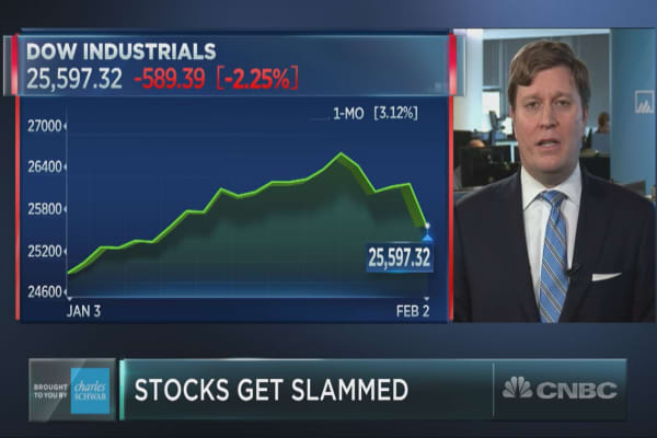 Stocks tumble, why one fund manager isn't turning bearish