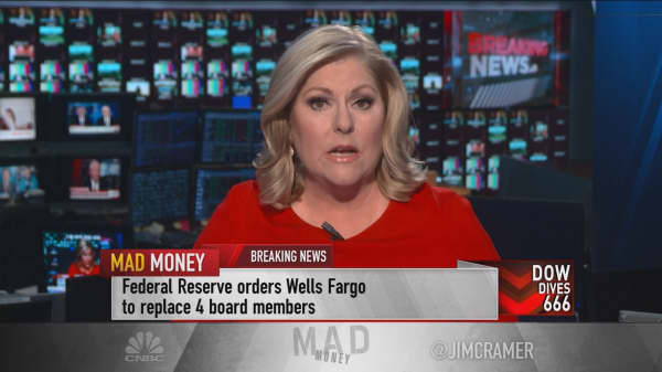 Federal Reserve orders Wells Fargo to replace four board members