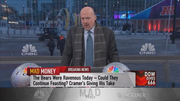 Cramer's guide to the sell-off: 'It's not the end of the world'
