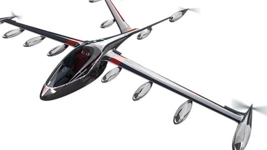 Joby Aviation is developing electric passenger planes and an air taxi service.