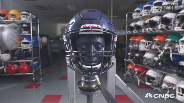 Super Bowl Players Custom Helmets Start With A 3d Scan