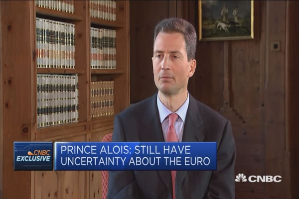 Prince Alois: Still a lot of homework to do in Europe