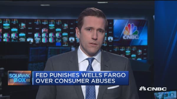 Federal Reserve punishes Wells Fargo, caps total assets