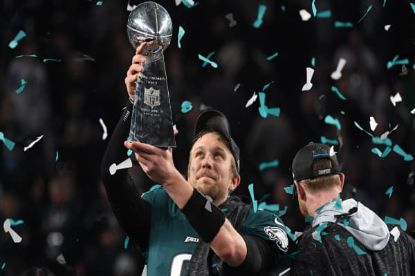 Here's how much money the Philadelphia Eagles will bring home for winning the Super Bowl