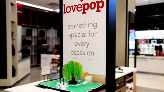 LovePop at Macy's