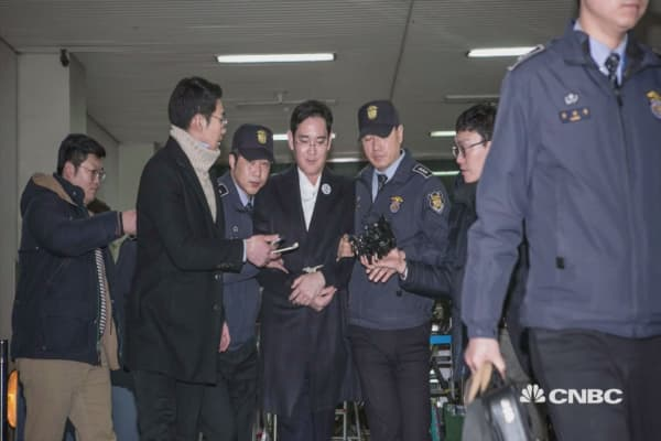 Samsung's heir is unexpectedly freed from jail