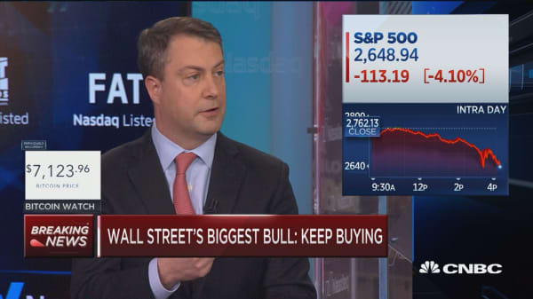 Biggest market bull: Sell-off is a buying opportunity