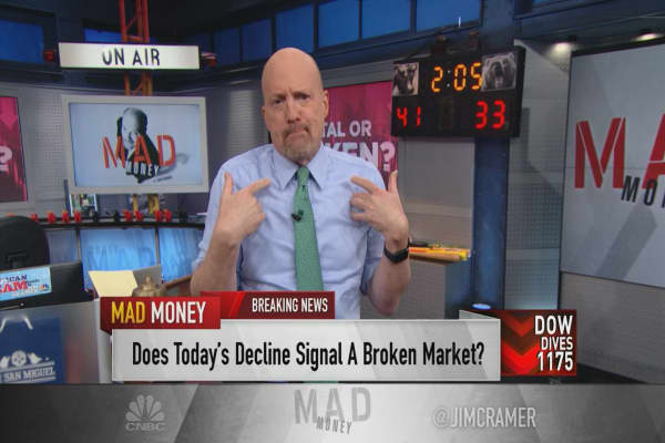 Cramer's 6 reasons for why this sell-off makes sense