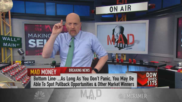 Cramer: Stop yourself from panicking and find the sell-off's opportunities