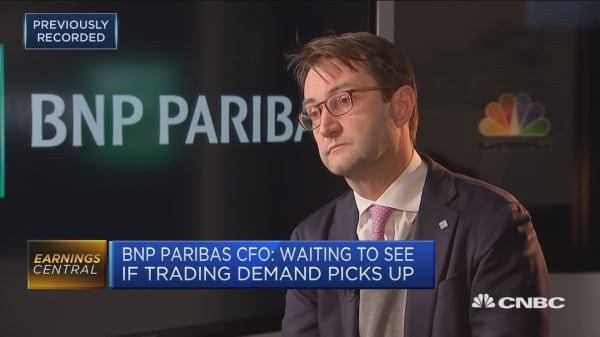 BNP Paribas CEO Lars Machenil