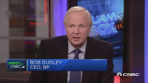 Best earnings ever, says BP CEO Bob Dudley
