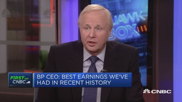 Oil price did feel high: BP CEO Bob Dudley