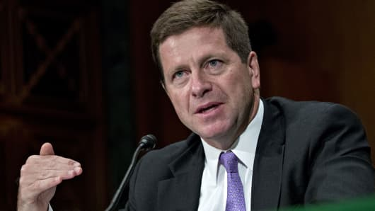 Jay Clayton, chairman of the U.S. Securities and Exchange Commission (SEC).