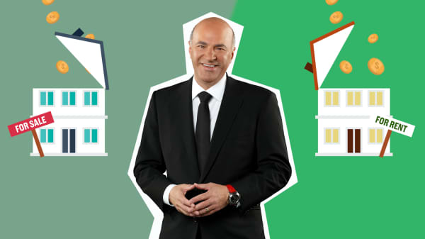 Kevin O'Leary: Use this test to decide if you should buy or rent a house