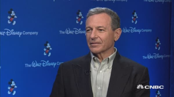 Bob Iger extra: 'Black Panther' a great movie with a great story