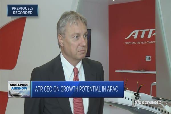 ATR has plans to enter China aircraft market