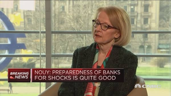 Need to be aware of bank's involvement in cryptocurrencies: ECB's Nouy