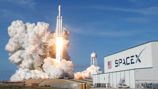 Image result for FALCON HEAVY