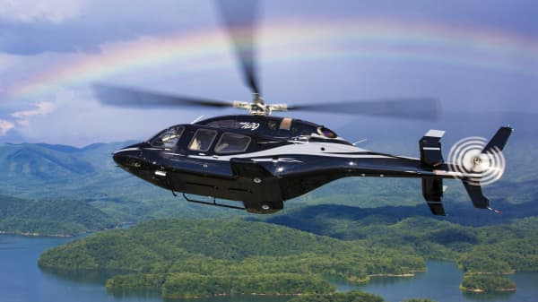We went inside some of the world's most popular corporate helicopters