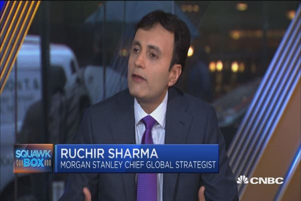 Volatility is 'first crack' of market top, says strategist