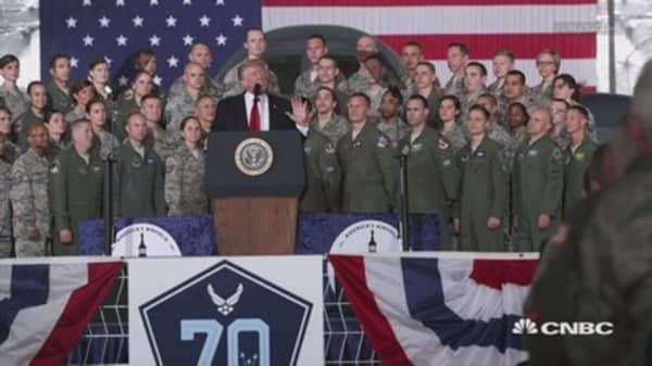Trump wants a 'grand military parade' in Washington