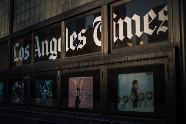 Tronc reaches deal to sell LA Times: Source