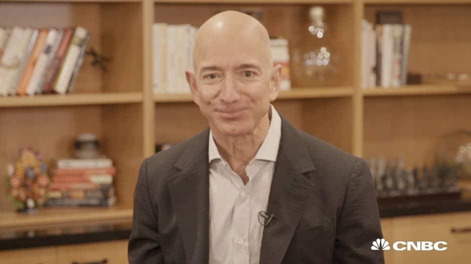 Jeff Bezos sends a birthday message to his fourth-grade teacher