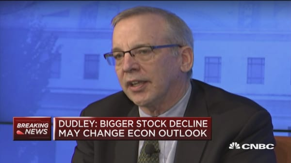 Fed's Dudley: Market functioning pretty good