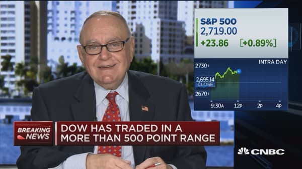 Leon Cooperman: S&P is reasonably, fully valued