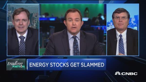 Trading Nation: Energy stocks get slammed