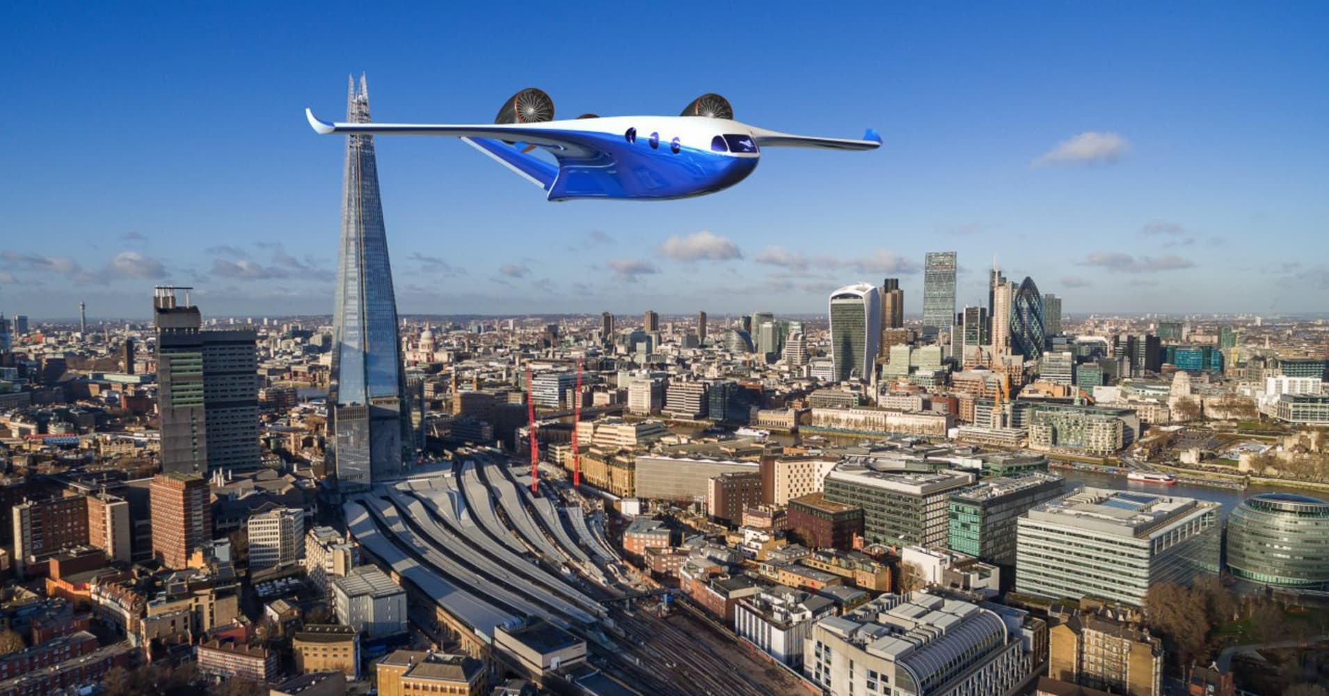 A newly unveiled business jet can take off like a helicopter