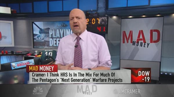 Cramer: If Congress ups defense spending, these 3 stocks are primed for profit
