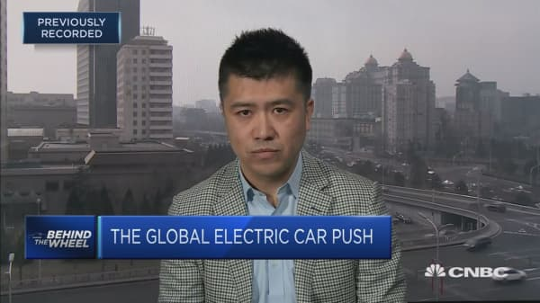 China's electric vehicle market will see 'fierce competition'