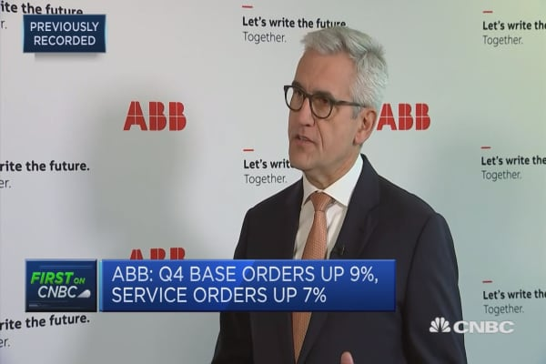 Changing commercial profile at ABB