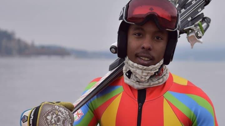 Canadian/Eritrean alpine skier Shannon Abeda.